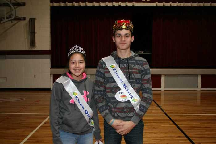 FFA King and Queen, Drew Greene and Tayla Ybara